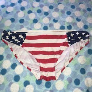 American Flag Bikini Bottoms